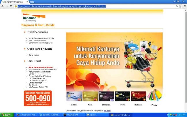 Promo Kartu Danamon MLG coffee Bisa Berbagi Blog Contest print screen