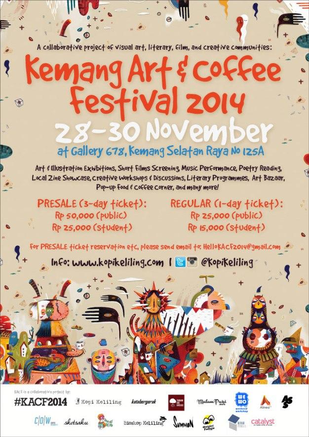 Kemang Art and Coffee Festival 2014