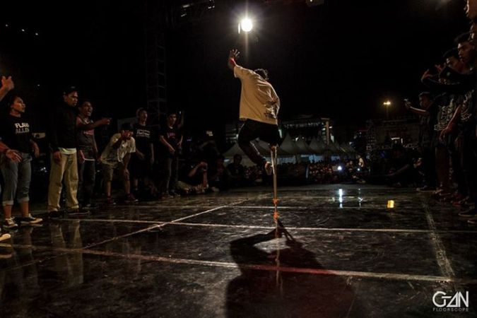 Arif Setyo Malang Breakin B-Boy Piramid Soulz - Battle
