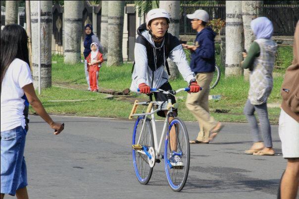 Arif Setyo Malang Breakin B-Boy Piramid Soulz Sepeda Fixie Malang