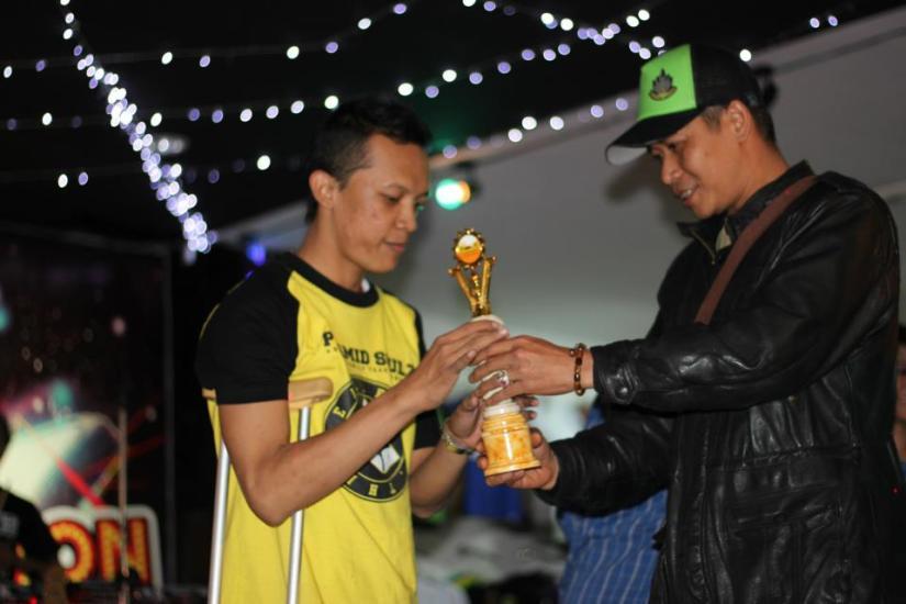 Arif Setyo Malang Breakin B-Boy Piramid Soulz - Difabel Juara