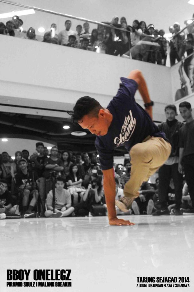 Malang Breakin Arif Setyo Budi B-boy Dance