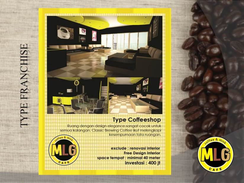 Slide22 - Franchise & Waralaba MLG cafe, coffee shop & Konsultan Cafe Katalog Product
