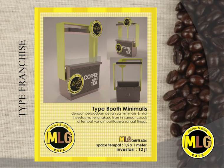 Slide8 - Franchise & Waralaba MLG cafe, coffee shop & Konsultan Cafe Katalog Product