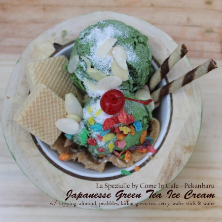 Ice Cream Japanesse Jepang Green Tea Macha Malang Pekanbaru Coffeeshop